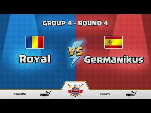 ESWC Gamescom 2017 Clash Royale - Group 4 - Round 4 - Royal vs Germanikus