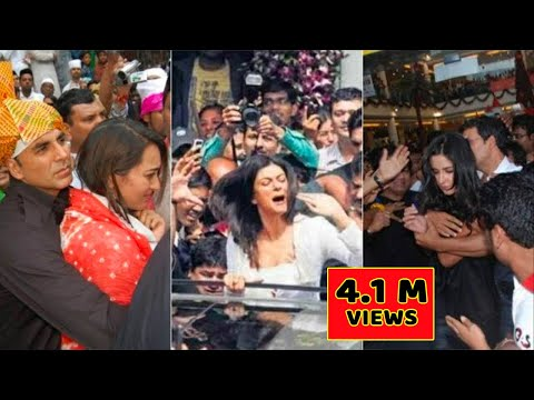 ये हो गया खुल्लेआम !! Bollywood actoress Molested in public !!  Bollywood movie promotion in public