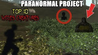 TOP 10 Woods Creatures Caught on Tape in GTA San Andreas - PARANORMAL PROJECT