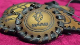Кожаные брелки(russian_handmadeБрелки для ключей. Сделаны из натуральной кожи полностью вручную. Методом выжигания нанесены изоб..., 2016-09-29T11:37:28.000Z)