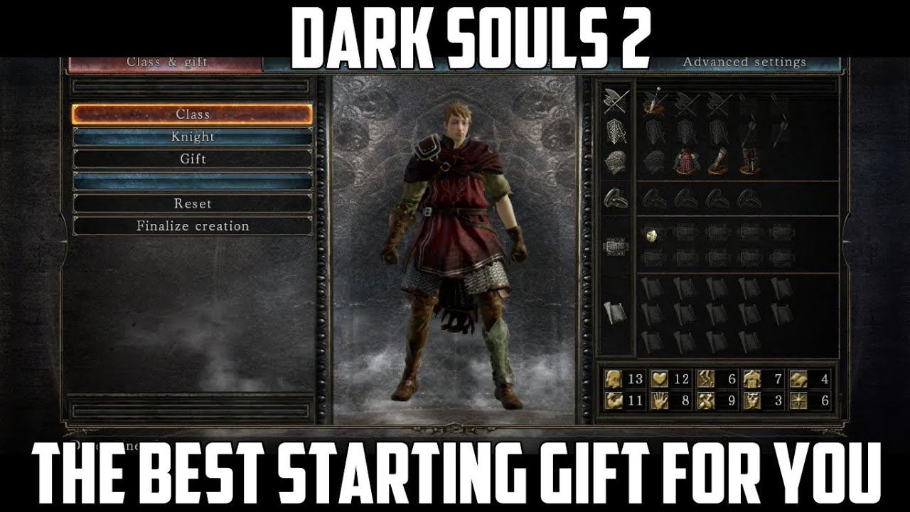 Choosing the best starting gift for you on Dark Souls 2 - YouTube