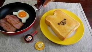 Real figure③ ミニチュア実体化 「リラックマ目玉焼きトースト」 thumbnail