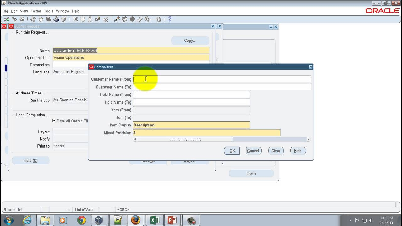 R12i Oracle Order Management - Book Order Reports (on R12 2 3)