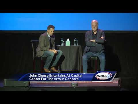 John Cleese entertains crowd in Concord