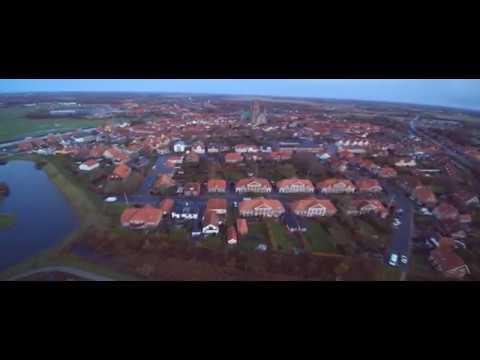 Kijk! Ribe Denemarken in 4K met yuneec drone