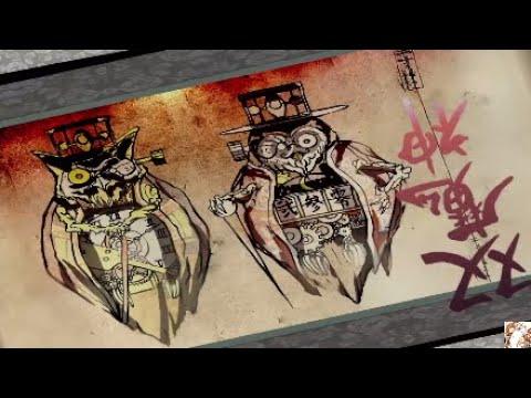 okami hd owl twin demon battle youtube