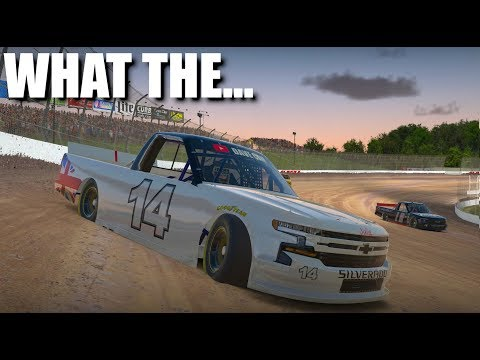iRacing | Things just got weird... | Class C Fixed Trucks at Eldora Speedway