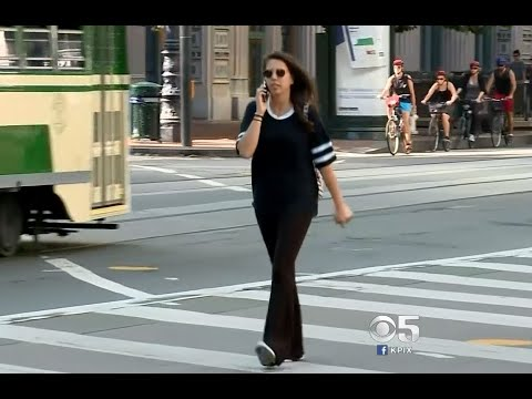 DISTRACTED WALKING: Bay Area Lawmaker Proposes Ticketing Cellphone Using Pedestrians