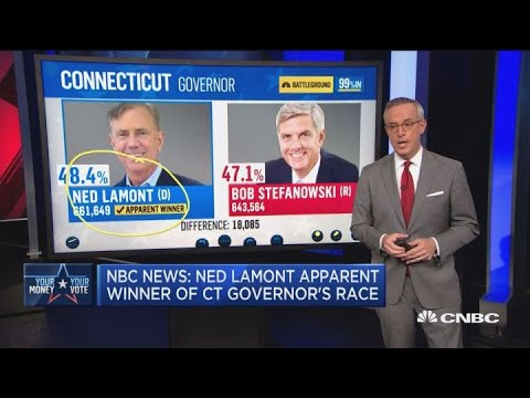 NBC News: Ned Lamont Apparent Winner Of Connecticut Governor's Race