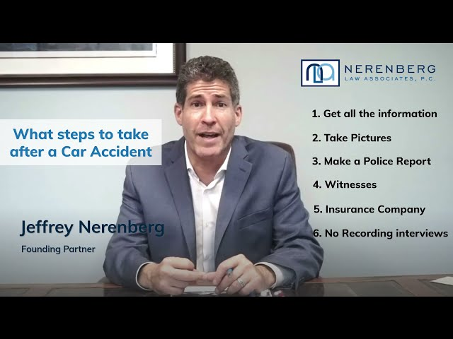 What Steps Should I Take After a Car Accident?