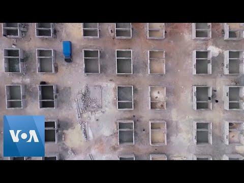 Turkey Starts Building 10,000 Briquette Houses In Syria's Idlib