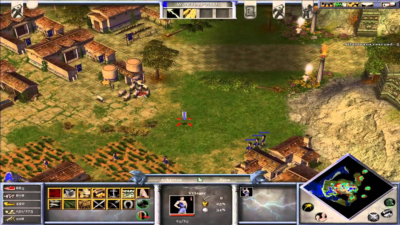 how to play age of mythology on mac