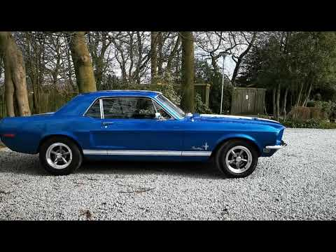 1968 Mustang Wedding Car