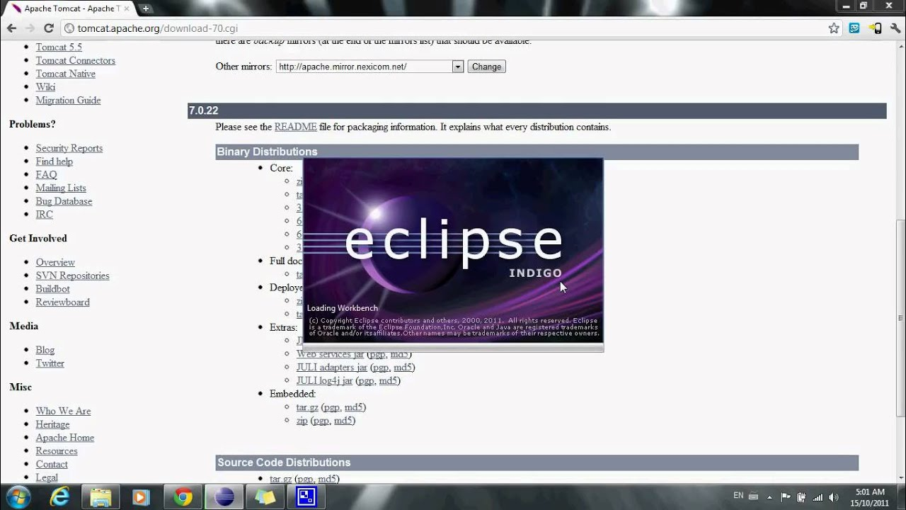[TUTORIAL]How to install Tomcat on Eclipse IDE [Indigo]