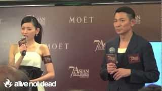 Andy Lau at 7th Asian Film Awards Nomination Announcement Press Conference