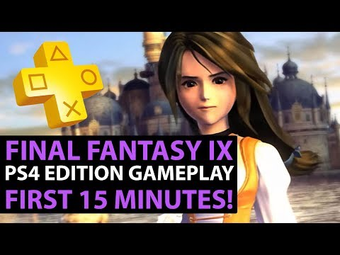 Final Fantasy IX PS4 Gameplay - FIRST 15 MINUTES - Opening Cutscene & More! (PS4 Gameplay)