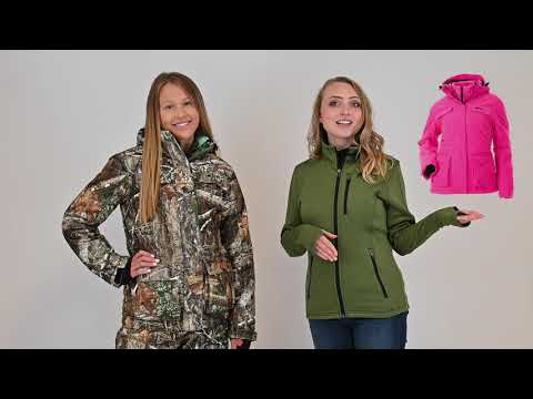 DSG Outerwear Kylie 3.0 Jacket And Drop Seat Bib Features