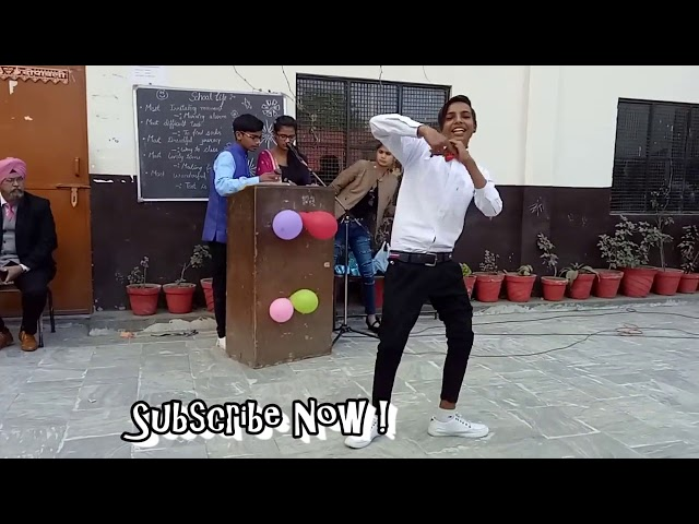 Backbone Dance in School | Dance on Backbone Hardy Sandhu | Jaani | B Praak |