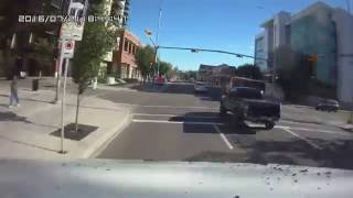 Bad driving calgary - accident