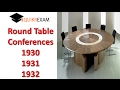 Round Table conference 1930 1931 1932