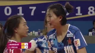 2017-2018 China Volleyball League Round 18th YUAN Xinyue Highlights