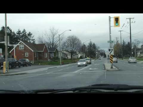 Driving through Hamilton