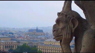 Вид на Париж в крыши собора Нотр Дам де Пари(Все архитектурные достопримечательности Парижа в одном видео сразу. Video for site http://www.sun-day.su Все видео про..., 2014-12-10T11:50:45.000Z)