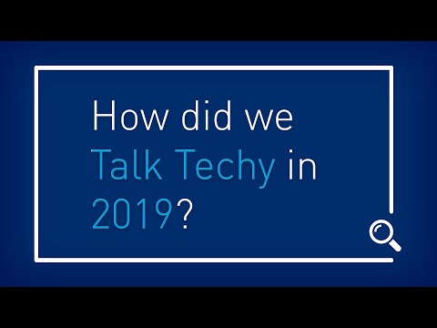 Talk Techy to Me: Best of 2019