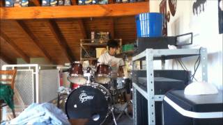 Audioslave - Show me how to live - Drum cover
