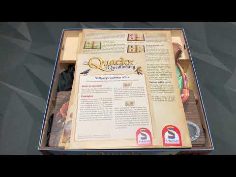 Quacks Of Quedlinburg Wooden Insert From Meeple Realty