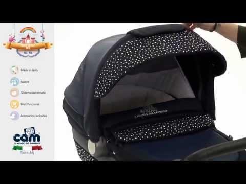 Детская коляска CAM Linea Classy Tris в интернет магазине bebe-market.com.ua...