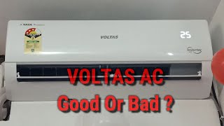 VOLTAS Split AC VOLTAS 1 TON 3 STAR Inverter AC VOLTAS 2020 AC 123V CZTT Model