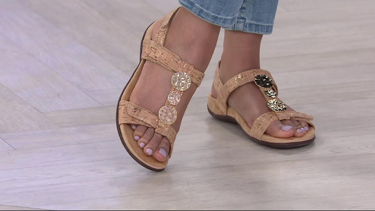 Vionic Embellished Sandals - Farra on