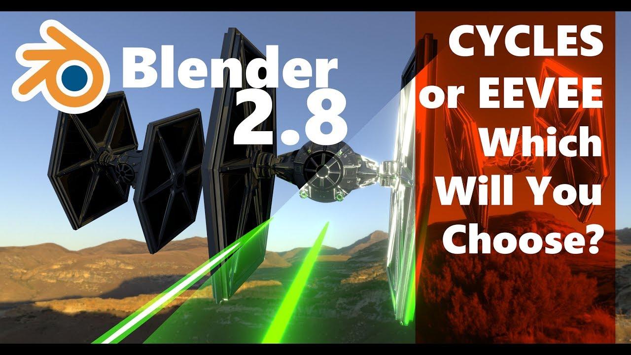 Blender Eevee Compared to Cycles Render