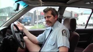 Stupid Cop car crash on reality tv
