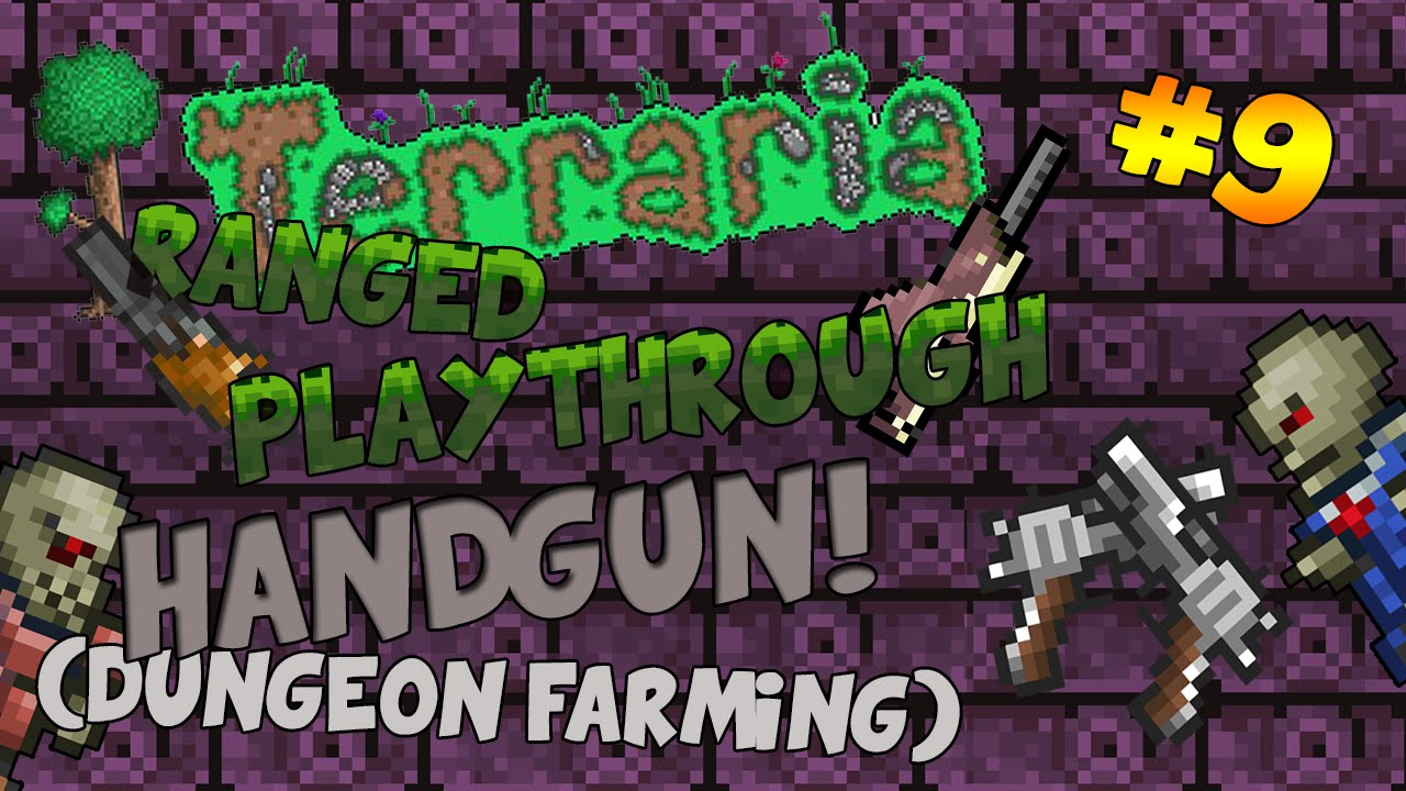 how to get the handgun in terraria