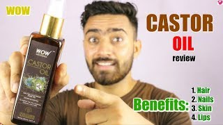 Wow Castor Oil review | Benefits of Castor oil for Hair, Face, Nails and Lips | QualityMantra