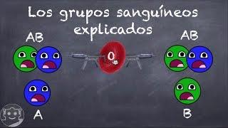 LOS GRUPOS SANGUÍNEOS EXPLICADOS