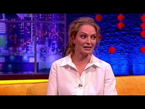 Quentin Tarantino scares Uma Thurman's Son At Dinner - The Jonathan Ross Show