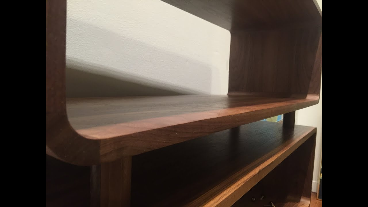 The Making Of A Mid Century Modern Bookcase