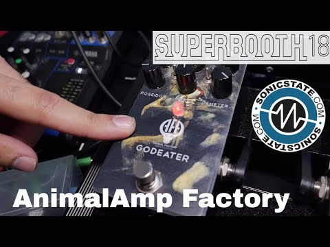 Superbooth 2018 Animal Amp Factory God Eater