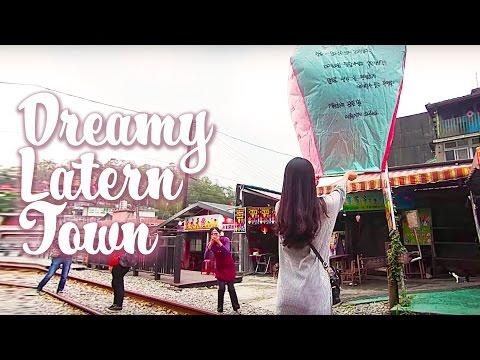 TRAVEL TAIPEI TAIWAN | PingXi, Lanterns & Street Food 平溪老街 #4