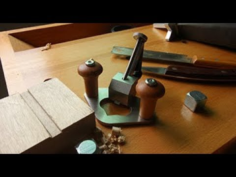 How To Cut A Dado Joint With Cowryman Router Plane