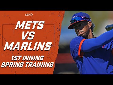 See Francisco Lindor's first spring training at-bat as a New York Met | New York Mets | SNY