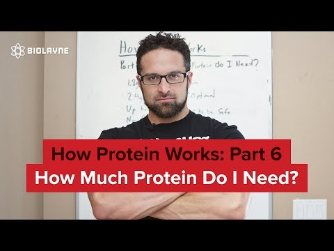 How Protein Works Part 6: How Much Protein Do I Need?