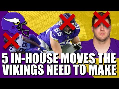 5 In-House Roster Moves The Vikings NEED To Make