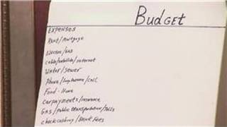 Household Budgets : How to Make a Personal Weekly Spending Budget