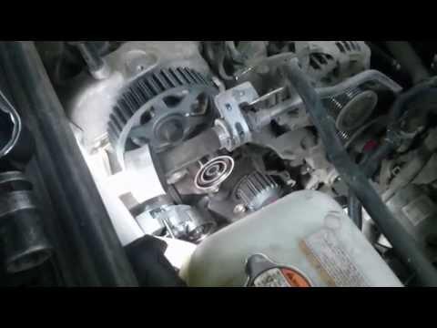 Замена ремня ГРМ Hyundai Tucson, Santa Fe CRDi, Replacement Belt Kit Hyundai Tucson CRDi