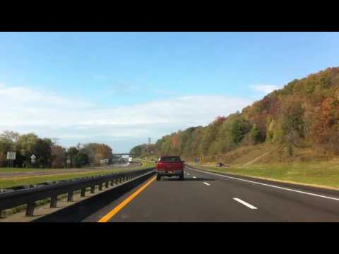 2 hour BMW335IXC drive across America, Connecticut to San Francisco Interstate 80, Route 6