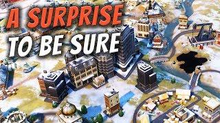 A Surprise to be Sure...  - Civilization 6 Gathering Storm Deity Part 19